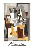 Nature Morte a la porte et a la clef Reproduction pour collectionneurs par Pablo Picasso