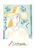 Femme a la Collerette Reproduction pour collectionneurs par Pablo Picasso