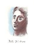 Portrait de Femme a Trois Quart Gauche