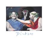 Photo Rehasse de Picasso et Manuel Pallar