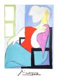 Femme Assise Pres D'une Fenetre