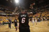 Indianapolis  IN - May 24: Miami Heat and Indiana Pacers - LeBron James