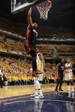 Indianapolis  IN - May 24: Miami Heat and Indiana Pacers - Dwyane Wade