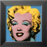 Shot Blue Marilyn  1964