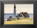 Lighthouse and Buildings  Portland Head  Cape Elizabeth  Maine  c1927
