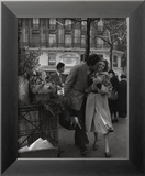 Paris, 1950 Reproduction encadrée par Robert Doisneau