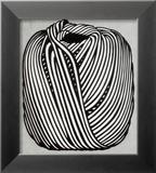 Ball of Twine, 1963 (serigraph) Reproduction encadrée par Roy Lichtenstein