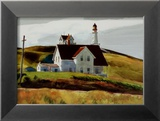 Hill and Houses Cape Elizabeth Maine
