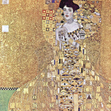 Portrait of Adele Bloch-Bauer I, c.1907 Reproduction d'art par Gustav Klimt