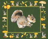 Nice Animals Squirrels Reproduction d'art