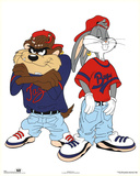 Looney Tunes Bugs Bunny and Tazmanian Devil Kris Kross