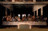 The Last Supper, 1498 (post-restoration) Reproduction d'art par Leonardo Da Vinci