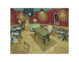 The Night Cafe, c.1888 Reproduction d'art par Vincent Van Gogh