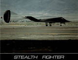 Stealth Fighter (Parachute Brake)