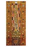 Pattern for the Stoclet Frieze, c.1905/06 End Wall Reproduction d'art par Gustav Klimt
