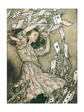 Alice &amp; Pack of Cards