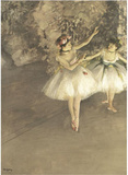 Ballet Reproduction d'art par Edgar Degas