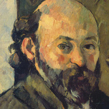 Self-Portrait  c1879-1882 (detail)