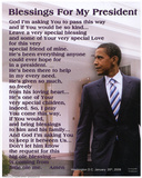 Barack Obama Blessings for My President