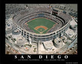 San Diego Padres Qualcom Stadium Final Season  c1969-2003 Sports