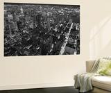 New York City Empire State Building Facing East by Henri Silberman Mini Mural Huge Poster Print Papier peint