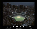 Colorado Rockies Coors Field First Opening Day April 26  c1995 Sports
