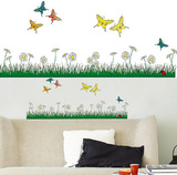 Butterflies Meadow 18 Wall Stickers