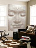 Smiling Buddha Mini Mural Huge Poster Art Print
