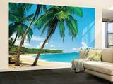 Ile Tropicale Tropical Isle Huge Wall Mural Art Print Poster