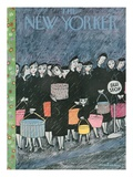 The New Yorker Cover - March 31  1956