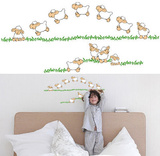 Jumping Sheep 20 Wall Stickers