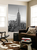 New York City Empire State Building by Henri Silberman Mural