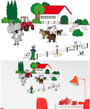 The Farm 24 Wall Stickers