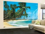 South Sea Beach Landscape Huge Wall Mural Art Print Poster