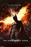 Dark Knight Rises One Sheet Movie Poster Print