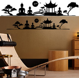 Asian Feeling 14 Wall Stickers