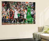 Boston  MA - June 3: Kevin Garnett and Paul Pierce