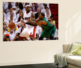 Miami  FL - May 28: LeBron James and Paul Pierce