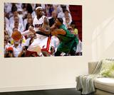 Miami  FL - May 28: LeBron James and Paul Pierce