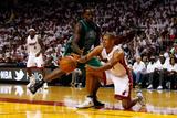 Miami  FL - May 28: Shane Battier and Brandon Bass