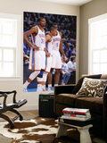 Oklahoma City  OK - June 2:  Kevin Durant  Russell Westbrook and Serge Ibaka