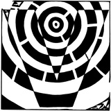 Maze of Uppercase V