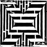 Maze of Uppercase X