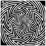 Please Stop Spinning Optical Illusion Maze Art