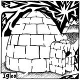 I is for Igloo Maze