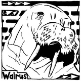 Learn to a Maze W is for Walrus