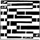Maze of Uppercase E