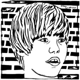 Maze Portrait of Justin Beiber Psychedelic