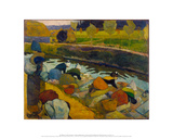 Washerwomen  Arles 1888