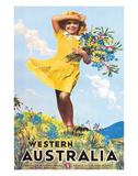 Western Australia  Flower Girl c1936
